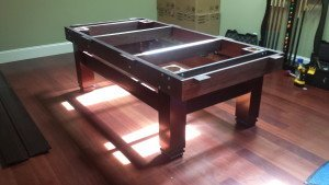 Pool and billiard table set ups and installations in Boca Raton Florida